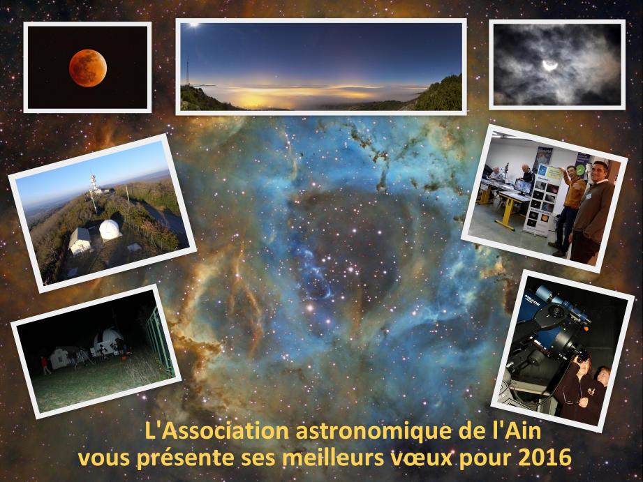 Réalisée avec les photos faites par les membres de l'association.